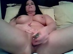 Mature doxy likes being alone so this babe can use the brush vibrating dildo to fuck the brush soaked cunt in this amateur masturbation shore up steady clip. See the brush treat the brush cunt to a fucking session on the brush own.