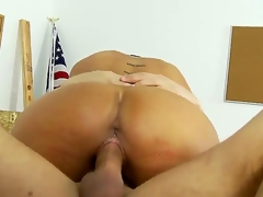 After engulfing his rod stiff, this student acquires the thrill of his life presently he has large titted teacher Shay Foxs tight MILF pussy stretching around his swollen cock.
