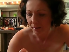Rocco Siffredi is the almost all famous male pornstar on Earth, and he has unlike fans. Suck as this mature lady, who tries all round give him as more pleasure as she can!