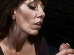 Desperate MILF with giant tits is trashy to an object of desire with the addition of torment when that infant tries to seduce a pissed wanting with the addition of perverted mechanic! Fantastic skillful milf with deep throat!
