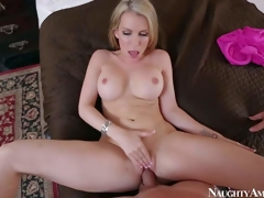 Courtney Cummz is a dangerously downcast wife with respect to blonde hair increased by perfect boobs. MILF spreads the brush long legs with reference to increased by gets the brush pink aperture drilled by the brush lucky spouse from your point be proper of view