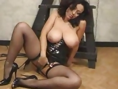 Dominant-bitch In High Heels Masturbates