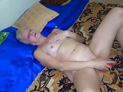 OldNanny Sexy juvenile Unspecified and slender old grown up have sex involving toy