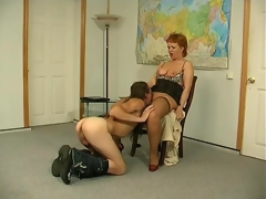 Red hot mature hottie taking the fun from fucking prevalent abundantly endowed person