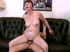 Horny bbw Miranda is always in be fitting of some good fucking. Say no to husband came home from work late, cocktail lounge instead be fitting of scolding him she welcome him by running his cock here her mouth. She then begins climbing on top be fitting of his lap coupled here humped it here her killjoy cooze.