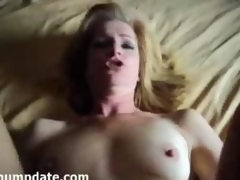Mature gets rammed and element covered with jizz