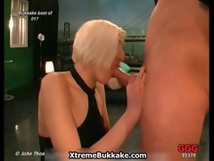 Dirty blonde bitch gets horny movie 2